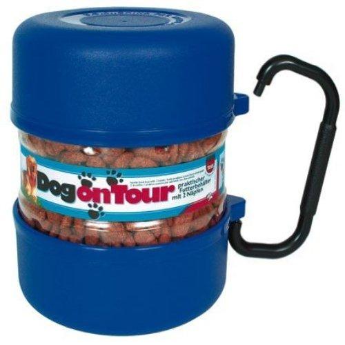 Artikelbild: Trixie 2491 Reise-Set, Kunststoff 2 Liter/0,75 Liter, blau