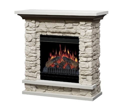 Review Of Dimplex Lincoln Electric Fireplace with 20 Inch Firebox, Rustic Stone, GDS20-ST1037