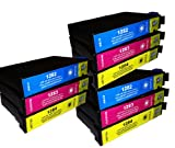 3x :T1282 T1283 T1284 Compatible Ink Cartridges to replace Epson SX130 - ALSO COMPATIBLE WITH Printers Epson Stylus Office BX305F, BX305FW Plus, Epson Stylus S22, SX125, SX130, SX235W, SX420W, SX425W, SX435W, SX445W - Latest Version Double Capacity Inks
