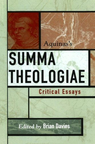 aquinass classics critical essay summa theologiae Aristotle's four causes, thomas aquinas' five ways, quinque viae from the summa theologiae, ie, his five proofs for the existence of god are summarized together with some standard objections.