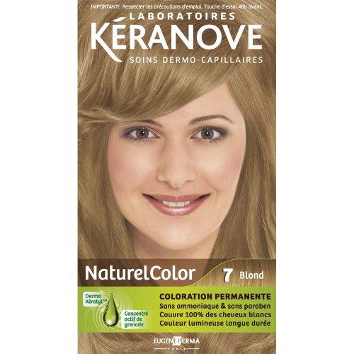 laboratoires kranove coloration permanente naturelcolor 7 blond - Coloration Keranove
