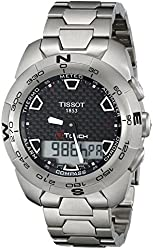 Tissot Men's T0134204420100 T-Touch Expert Titanium Watch