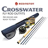 """Redington Crosswater 890-4 Fly Rod Outfit (9'0"""", 8wt, 4pc)"""