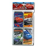 Disney Cars 4pk mini Spiral Notepad in Poly Bag with Header Card