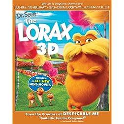 Dr. Seuss' The Lorax (Blu-ray 3D/Blu-ray/DVD Combo + Digital & UltraViolet Copies)
