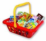 Christian Tanner 1057.2 - Cesta de pl�stico para ir a la compra con art�culos de supermercado [importado de Alemania]