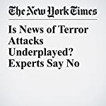 Is News of Terror Attacks Underplayed? Experts Say No | Scott Shane