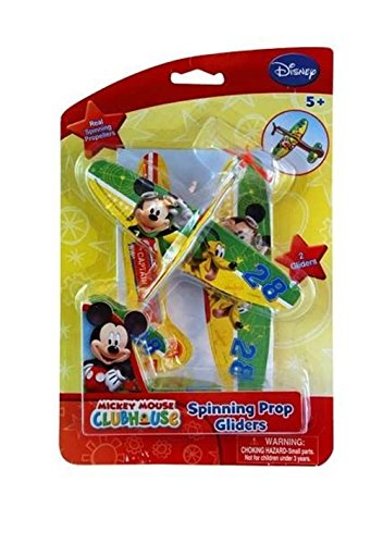 Disney Mickey Mouse Spinning Prop Glider - 1