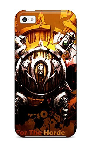Waterdrop Snap-on World Of Warcraft Horde Logo Case For Iphone 5c