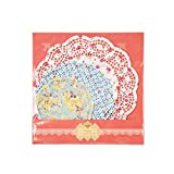 Talking Tables Truly Scrumptious Floral Disposable Doilies for a Tea Party, Multicolor (24 Pack)