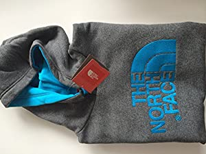 the north face pullover hoodie grey XL