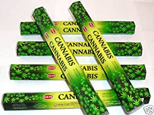 Räucherwerk Räucherstäbchen - Duft: Cannabis - RÄUCHERN