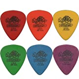 Dunlop Tortex - Standard Plectrum Set (Pack of 6) - 0.5 - 1.14 mm