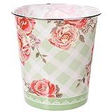 Mülleimer Chintz Blumen Design aus Kunststoff 24