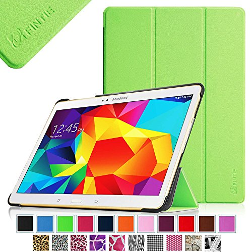 Fintie Samsung Galaxy Tab S 10.5 (10.5-Inch) Smart Shell Case - Ultra Slim Lightweight Stand Cover with Auto Sleep/Wake Feature, Green