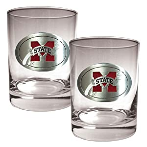 Great American Products Virginia Tech Hokies 2 Piece Rocks Glass Set by Great American Products