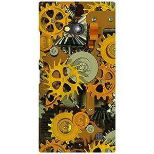 Nokia Lumia 730 Back Cover - Abstract Designer Cases
