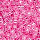 Miyuki Delica Seed Beads 11/0 Hot Pink Ceylon DB246 7.2 Grams