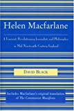 Helen Macfarlane: A Feminist, Revolutionary Journalist, and Philosopher in Mid-Nineteenth-Century England front cover