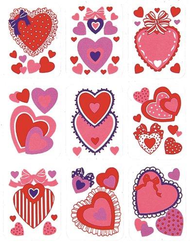 Eureka Valentine Stickers - 1