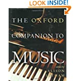 The Oxford Companion to Music (Oxford Companions)