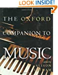 The Oxford Companion to Music (Oxford...
