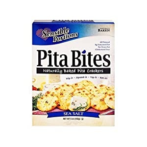 Sensible Portions Pita Bites Original Sea Salt - 20 oz