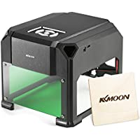 KKmoon 1000mW Laser Engraving Machine (Black)