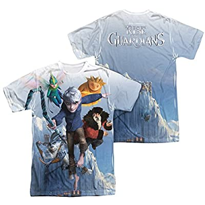 Sublimation Front/Back Together Now Rise Of The Guardians T-Shirt