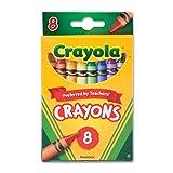 Bulk Buy: Crayola Crayons 8 Pkg 52-3008 (12-Pack)