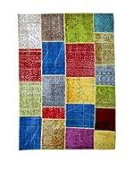 HF LIVING Alfombra Vintage Patchwork (Multicolor)