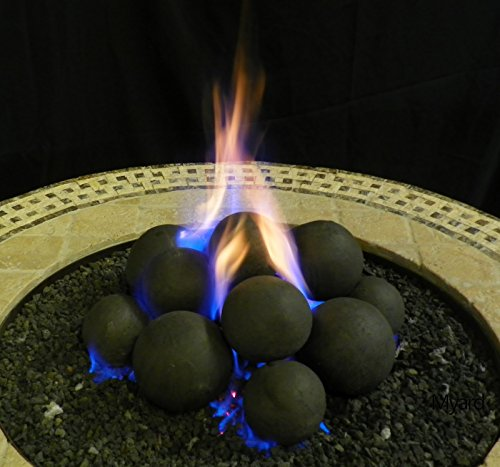 MaxRed-14-Cannonball-Fire-Stones-Log-Set-no-Lava-Rock-for-Fire-Pit-Personal-Fireplace