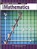 img - for MCP MATHEMATICS LEVEL F TEACHER EDITION 2005C book / textbook / text book
