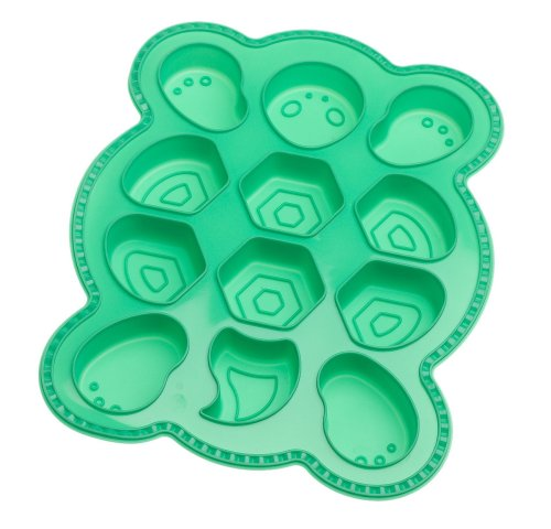 "... Create and Celebrate"" Turtle Pull-Apart Cupcake Silicone Baking Pan"