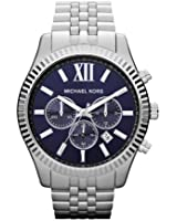 Michael Kors Men's MK8280 Lexington Analog Display Analog Quartz Silver Watch