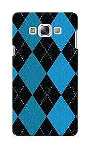 KnapCase Argyle Designer 3D Printed Case Cover For Samsung Galaxy E5