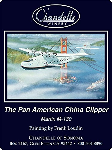 "Special 'Pan Am China Clipper Art Edition"" 2008 Sonoma County Cabernet Sauvignon 750 Ml"