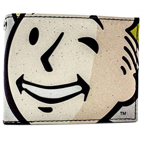 Bethesda Fallout 4 Vault Boy Strizza l'occhio Grigio portafoglio