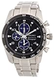 Seiko Sportura Chronograph Stainless Steel Bracelet Gents Watch SNAE63P1