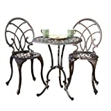 BEST Charleston Aluminum Copper Bistro Set