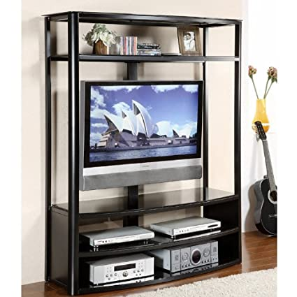 "Contemporary 48"" Console TV Stand Silhouette"