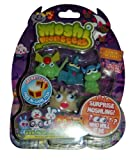 Moshi Monsters Halloween Moshlings 5 Pack - General Fuzuki, Gurgle, Shelby, Blurp & Surprise Figure