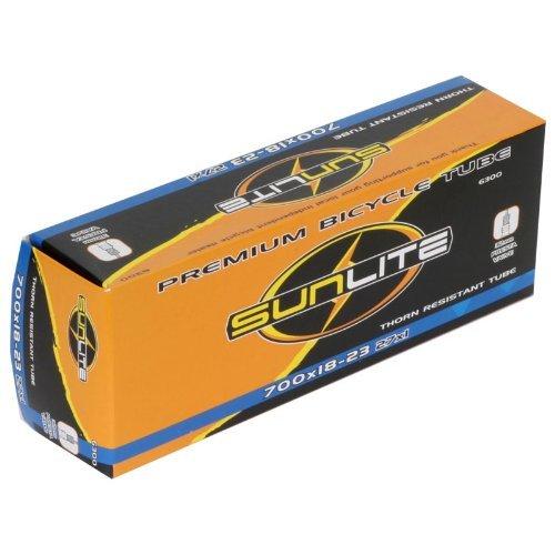 Sunlite Thorn Resistant Bicycle Tube 700 x 18-23 (27 x 1) 32mm PRESTA Valve