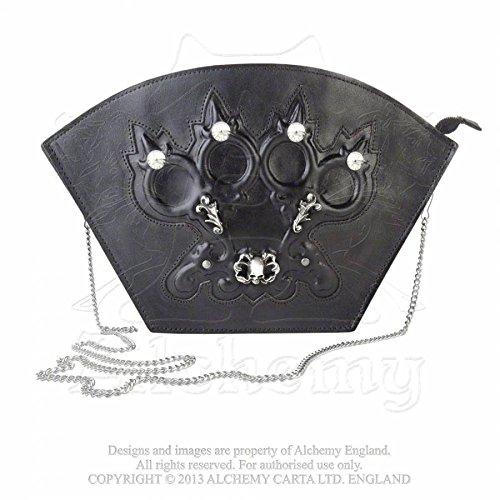 Alchemy Gothic Coup D'Elegance borsa in pelle