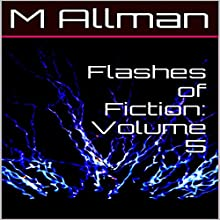 Flashes of Fiction, Volume 5 Audiobook by M. Allman Narrated by Matthew Woods