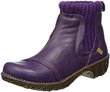 Comprar El Naturalista Ne23 Soft Grain Purple / Yggdrasil, Botas Chelsea para Mujer