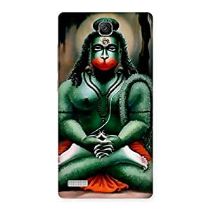 Premium Hanuman Ji Back Case Cover for Redmi Note 4