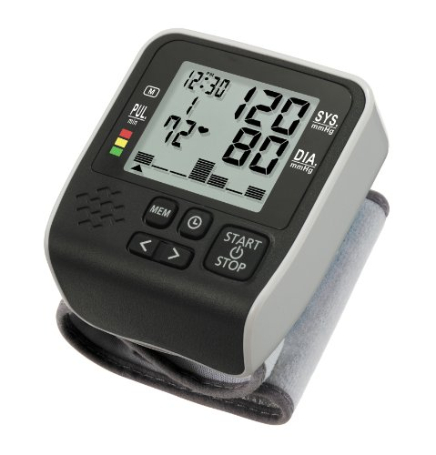 Lifemax 1221 Wrist Blood Pressure Monitor with Graphical History