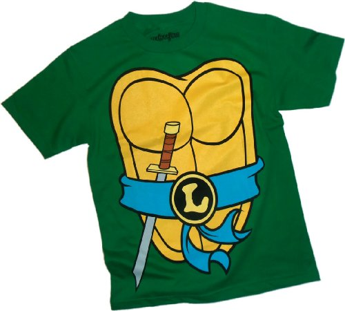 Leonardo Costume -- Teenage Mutant Ninja Turtles T-Shirt