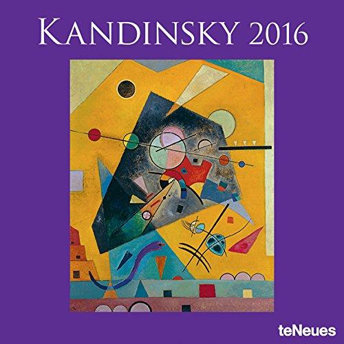 2016 Vasily Kandinsky Wall Calendar